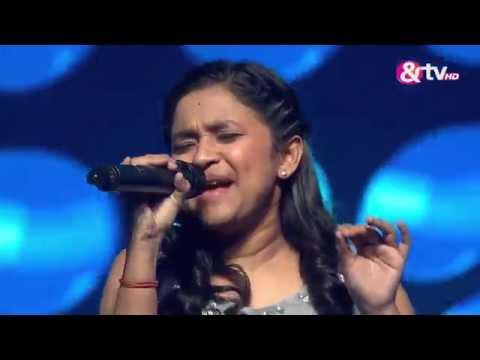 Ridipta Sharma - Raat Baaki - Liveshows - Episode 20 - The Voice India Kids