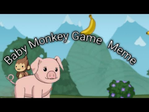 Baby Monkey (Going Backwards On A Pig) - Gachaverse Game Parody
