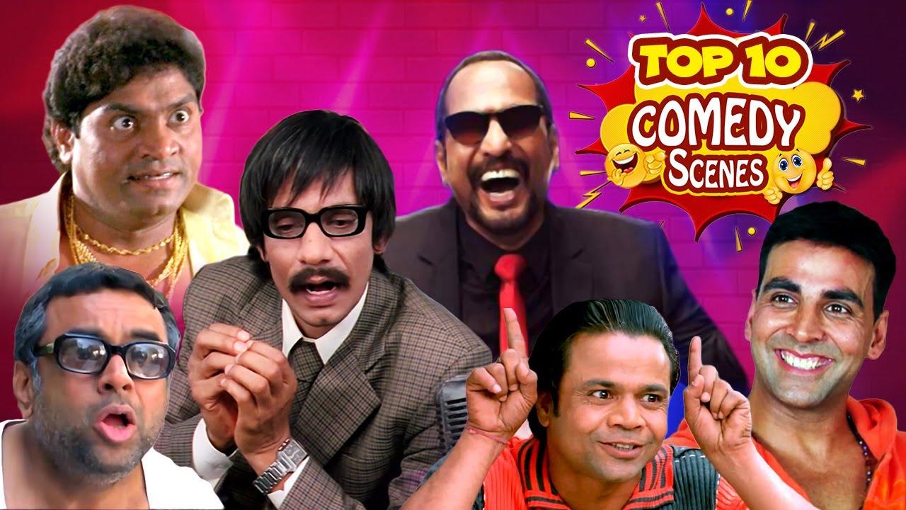 Top 10 Hindi Comedy Scenes | Paresh Rawal | Akshay Kumar Arshad Warsi | Johnny Lever | Rajpal Yadav