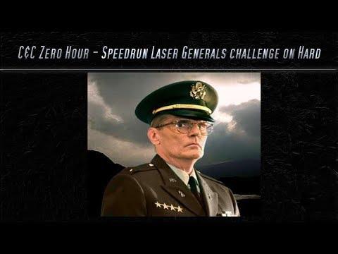 [C&C Zero Hour] Speedrun - Laser Challenge on Hard Mode