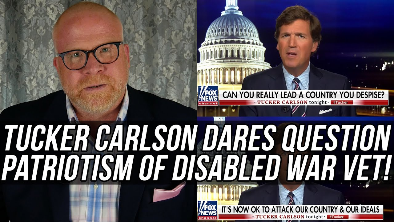 "U.S. Marine DESTROYS Tucker Carlson for Saying Disabled Veteran Tammy Duckworth ""HATES AMERICA!!!"""