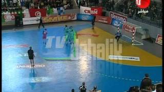 ملخص نصف نهائي كاس افريقيا لكرة اليد 2012 الجزائر مصر