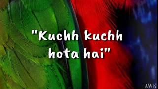 Gambar cover Kuchh Kuchh Hota Hai (Lyrics Video) - Udit Narayan & Alka Yagnik