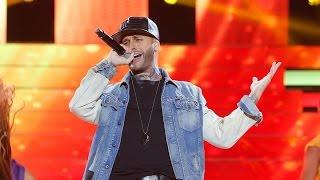 Adrián Rodríguez imita a Nicky Jam en 'Tu cara me suena'