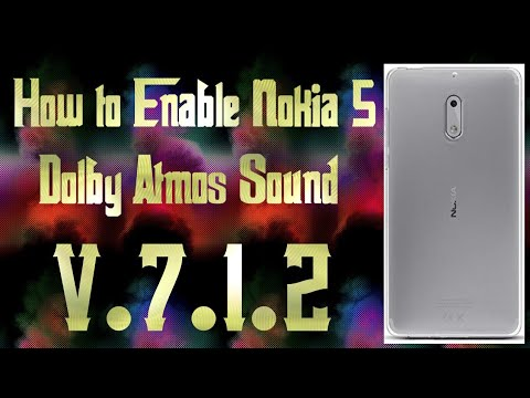 Nokia 5 Dolby surround sound Magic