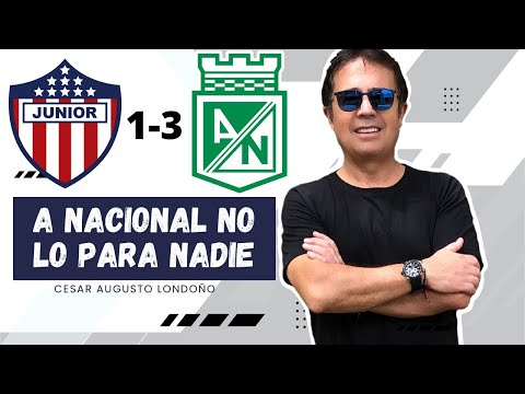 Junior 1-3 Nacional