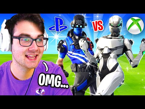I Hosted A PS4 Vs XBOX Tournament For $200 In Fortnite... (who Is Better?)