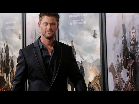 """Chris Hemsworth in """"Operation: 12 Strong"""""""
