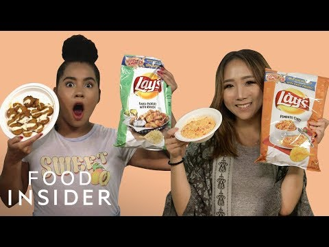 We Tried The New Lay's Potato Chip Flavors