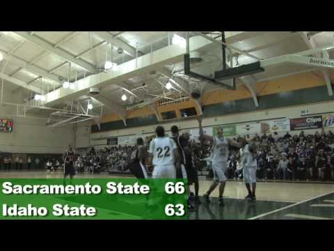 Idaho State at Sacramento State 1-24-09 Men