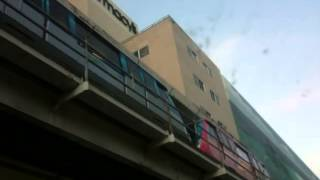 Metromover departure from miami avenue station