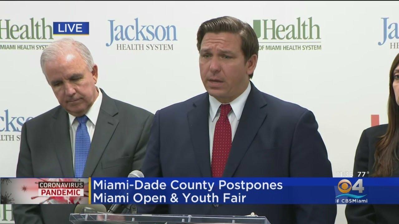 WEB EXTRA: Florida Governor Ron DeSantis On Coronavirus Thursday ...