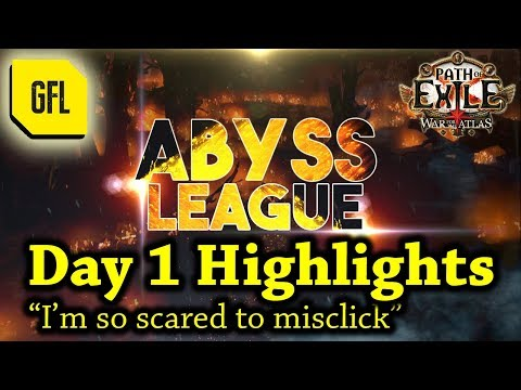 "Path of Exile 3.1: War for the Atlas DAY #1 Highlights ""I'm so scared to misclick"""