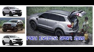 Ford Everest Sport 2020 nâng cấp ngoại hình giá hơn 1 tỷ đồng