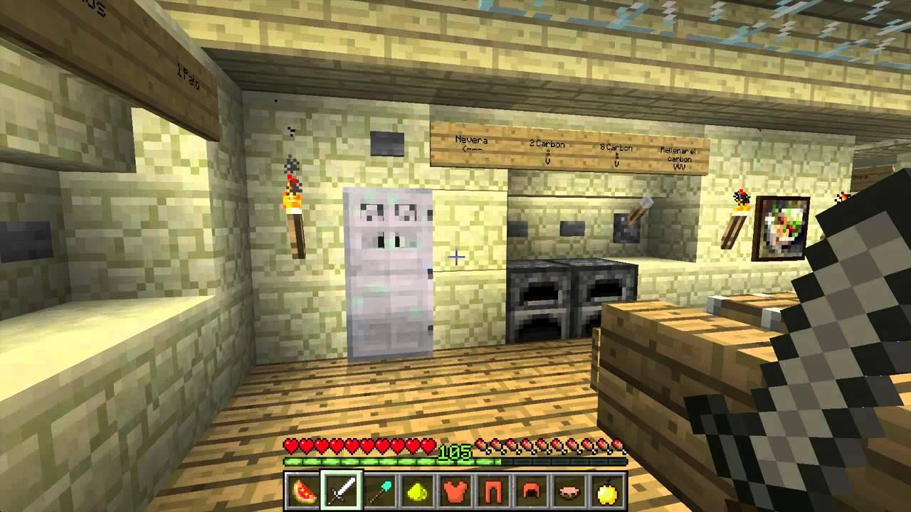 Cocina de alta tecnolog a en minecraft youtube - Www revistalove es cocina ...
