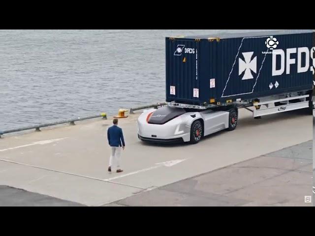 VERA, veículo autônomo e elétrico da Volvo, inicia suas operações