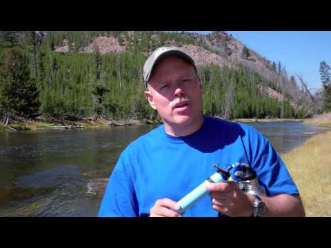 LifeStraw In Yellowstone National Park