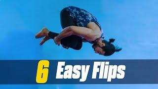 6 FLIPS ANYONE CAN LEARN | How to Flip | Flip Tutorial | Hindi | Thakur Anoop Singh | MuscleBlaze