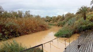 Поворот течения Иордана вспять на Крещение Господне.