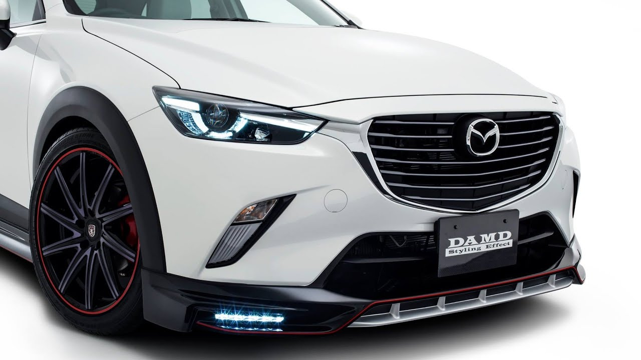 2016 Aggressive Looking Mazda Cx 3 In Damd Body Kit Youtube
