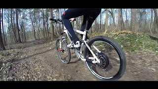 rocketone 45 km h fully mtb mit heckmotor und 300. Black Bedroom Furniture Sets. Home Design Ideas
