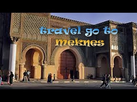 meknes cities of Morocco travel