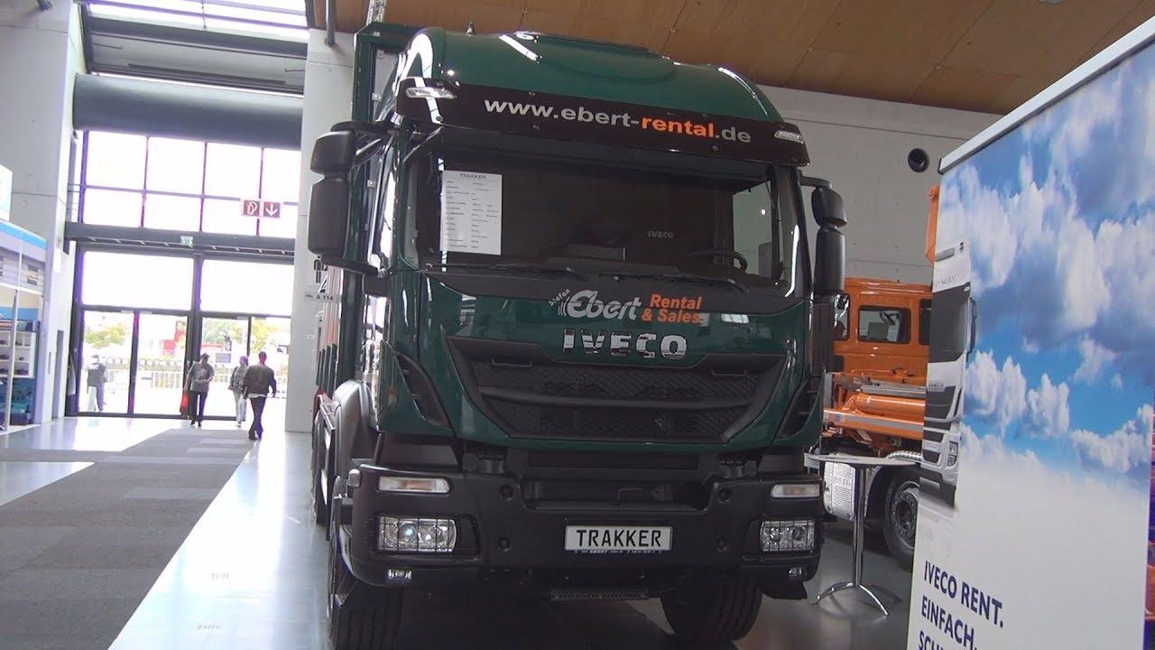 Iveco Trakker Ad260t50 P 6x4 Wood Transporter Truck 2018 Exterior And Interior