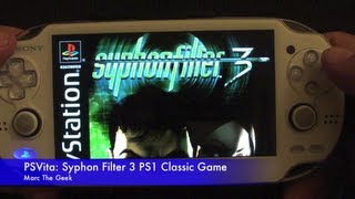 PSVita: Syphon Filter 3 PS1 Classic Game