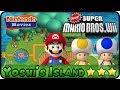Newer Super Mario Bros. Wii - World 1 - Yoshi's Island (100%, Multiplayer)