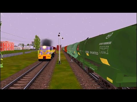Tanker Train Parallel Activity with Broad & Meter Gauge Trains in MSTS Open Rails by Sumit Mehrotra