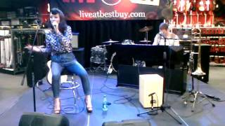 6 foot 7 foot cover by karmin live at best buy union square