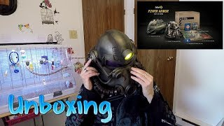 UNBOXING FALLOUT 76 POWER ARMOR EDITION