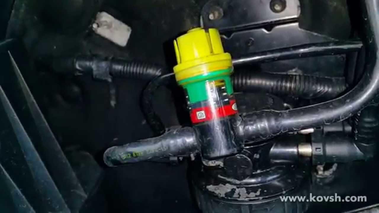 Устройство топливного фильтра форд транзит 2.2
