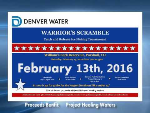 Warriors Scramble Ice FishingTourney