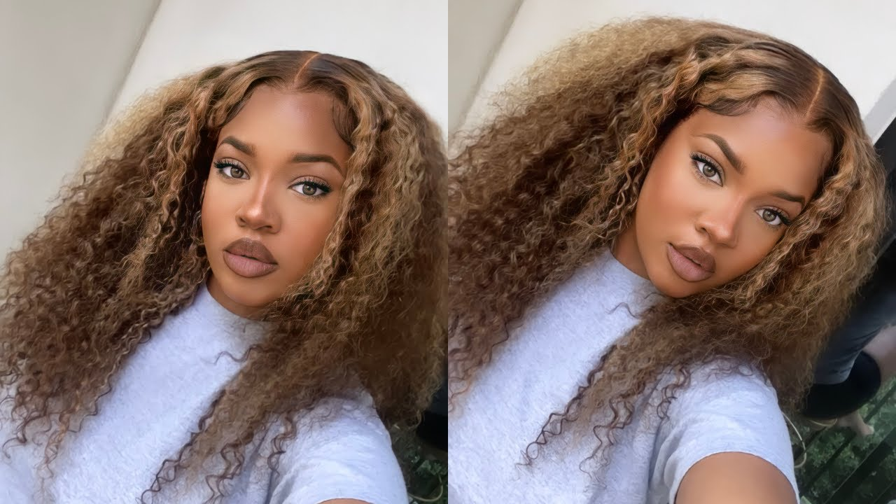 BEYONCEEE?!? 😍 *PRE-COLORED* Blonde Highlight Wig Install | Beauty Forever Hair