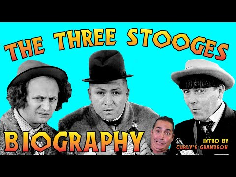 THE THREE STOOGES Biography - A&E - Intro By Curly's Grandson