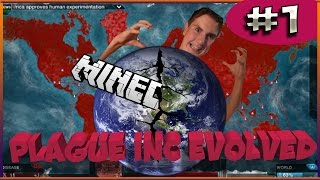 Plague Inc Evolved||Ep.1- Minecraft No!!