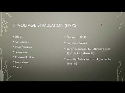 Electrotherapy 13 Hi Volt