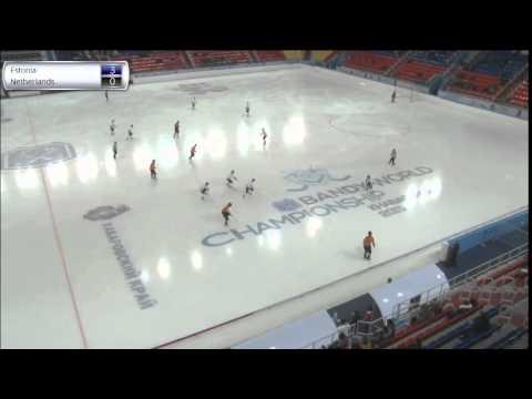 Estonia - Netherlands (Bandy world championship, Khabarovsk)
