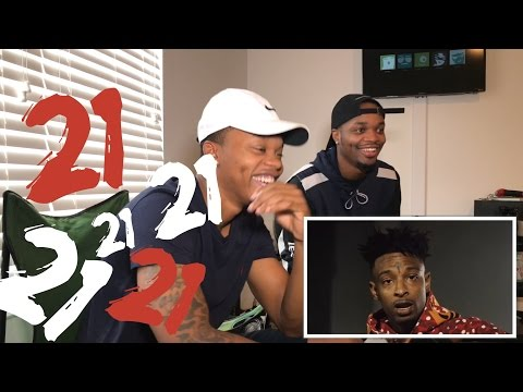21 Savage - X - OFFICIAL VIDEO (( REACTION )) LawTWINZ