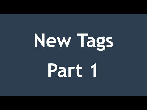 [ Html5 In Arabic ] #08 - New Tags - Header, Nav, Article, Section, Footer