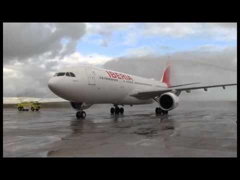 Mira por dentro el Airbus A330/200 de Iberia