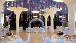 украшение зала на свадьбу шарами цены Алматы