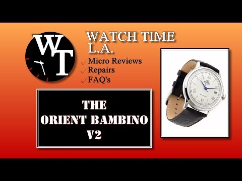 Orient Bambino V2 Full Review (Model FAC00009N0)