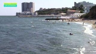 Пляж Аркадия - самый дорогой район в Одессе? Прекрасное Черное море(, 2015-06-18T07:40:34.000Z)