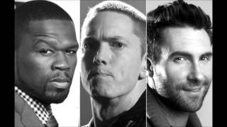 50 Cent- My Life Feat. EMINEM and Adam Levine (Download Link +LYRICS in description)