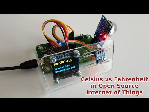 Celsius vs Fahrenheit in Open Source Internet of Things