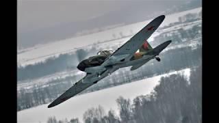 Штурмовик Ил-2 поднялся в небо для съемок художественного фильма о войне