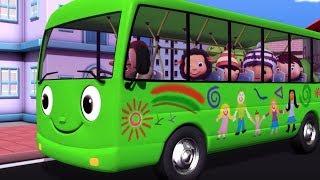 Las ruedas del autobús   Canciones infantiles   Little Baby Bum