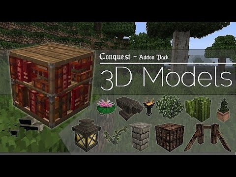 Conquest Texture Pack 1.8: 3D Model Pack